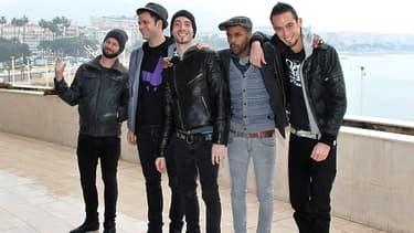 Le groupe Skip The Use en 2012