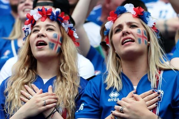Supportrices de l'Islande à l'Euro 2016
