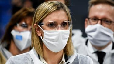 """""""Le gouvernement sera vigilant pour que les engagements qui ont été pris permettent la pérennité des emplois industriels"""", a déclaré Agnès Pannier-Runacher"""