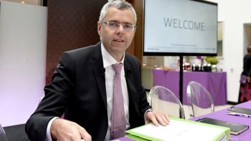 Michel Combes, le directeur général d'Alcatel-Lucent, a engagé un plan stratégique prévoyant 10.000 suppressions de postes.