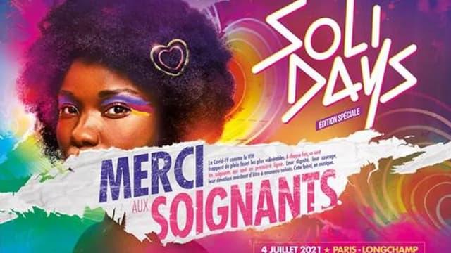 L'affiche du festival Solidays.