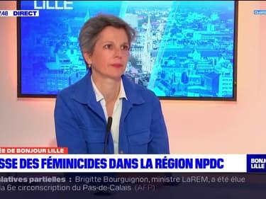 """Féminicides: Sandrine Rousseau, candidate à la primaire EELV pour la présidentielle 2022 souhaite qu'on """"donne les moyens à la justice"""""""