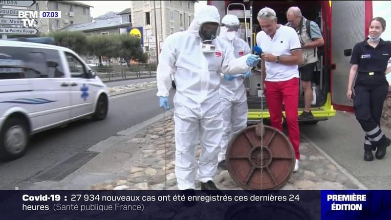 Les marins-pompiers de Marseille continuent de traquer le Covid-19 dans les eaux usées