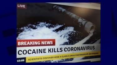 La fausse nouvelle sur la cocaïne capable de tuer le coronavirus