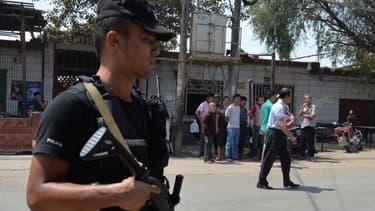 Un policier chinois. (photo d'illustration)