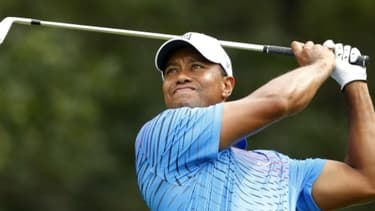 Tiger Woods numéro 2 mondial du golf