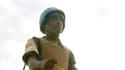 Soldat de la force conjointe de maintien de la paix ONU-Union africaine, dans le nord du Soudan le 18 octobre 2012.