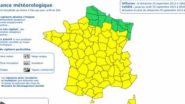 La vigilance orange a été levée dans l'Hérault et le Gard dimanche matin.