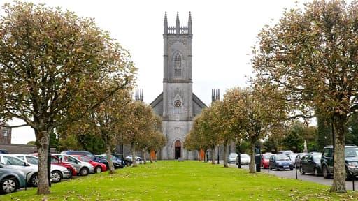 La cathédrale de la ville de Tuam, en République d'Irlande.