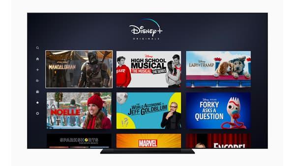 L'application Disney+, distinguée par Apple dans la catégorie Apple TV