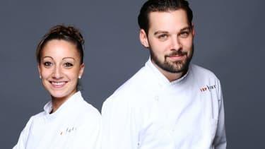 Coline et Xavier, les finalistes de la saison 7 de Top Chef