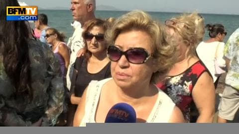Turquie: recueillement sur la plage où le petit Aylan a été retrouvé