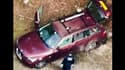 La voiture de la famille tuée mercredi à Cghevaline en Haute-Savoie