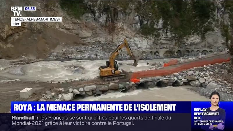 Les habitants de la vallée de la Roya vivent sous la menace permanente d'un isolement