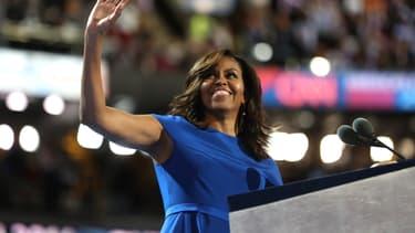 Michelle Obama lors de la convention nationale du parti démocrate, en juillet 2016.