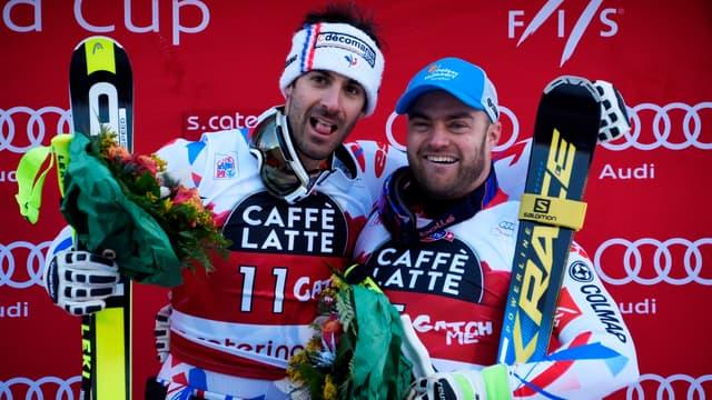 Adrien Théaux et David Poisson