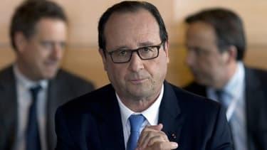 François Hollande a dû essuyer le refus de participer à la conférence sociale de la part de FO et la CGT.