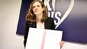 Nathalie Kosciusko-Morizet le 20 janvier, présentant la charte de déontologie cosignée avec les têtes de listes UMP à Paris.