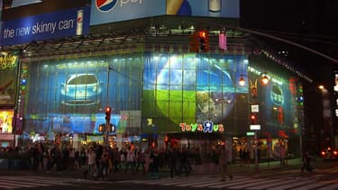 Le garnd magasin de jouets accueille chaque année des millions de visiteurs.