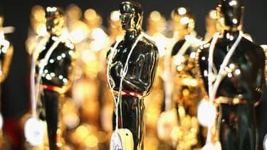 Les statuettes des Oscars, exposées en 2014