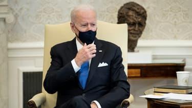 Le président américain Joe Biden le 3 mars 2021 à la Maison Blanche à Washington