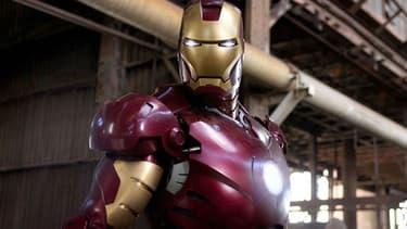 "Robert Downey Jr. dans ""Iron Man"", sorti en 2008"