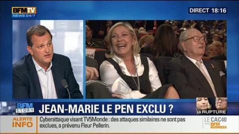 Jean-Marie Le Pen peut-il être exclu du Front national ?
