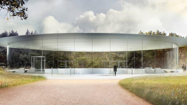 L'Apple Park a été conçu pour accueillir les 12.000 salariés d'Apple.