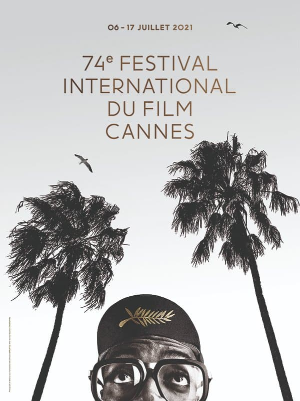 L'affiche du 74e Festival de Cannes
