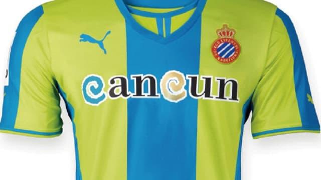 Le maillot de l'Espanyol Barcelone