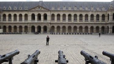 La cour des Invalides (photo d'illustration)