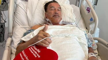 Arnold Schwarzenegger à l'hôpital