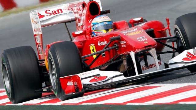 La Ferrari de Fernando alonso