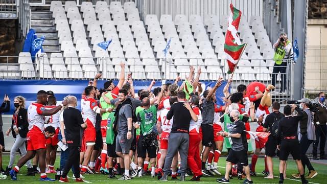 Biarritz disputera la finale d'accession au Top 14