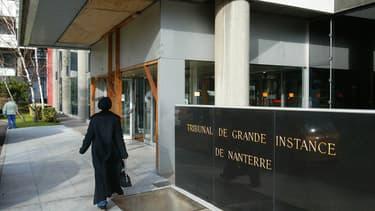 Le tribunal de Nanterre a été évacué ce lundi matin (photo d'illustration).