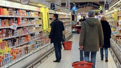 La grande distribution devrait répercuter cette année la hausse du prix du lait