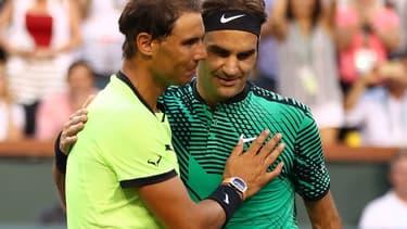 Nadal et Federer