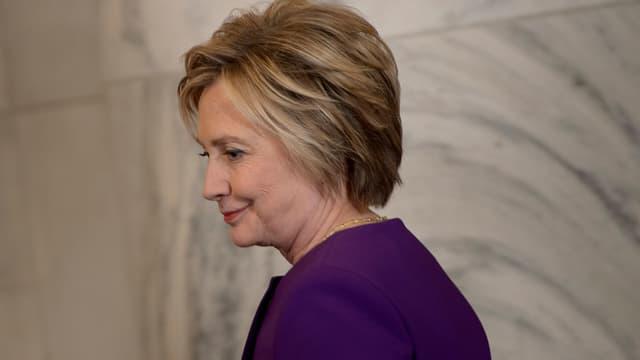 Hillary Clinton, le 8 décembre 2016.