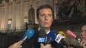 Jérôme Chartier, porte-parole de François Fillon, s'exprimpe sur l'accord trouvé entre son candidat et Jean-François Copé, le 17 décembre 2012