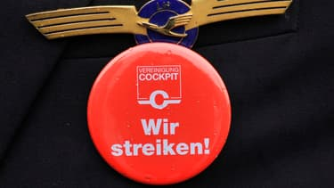 Les pilotes de Lufthansa sont en grève.