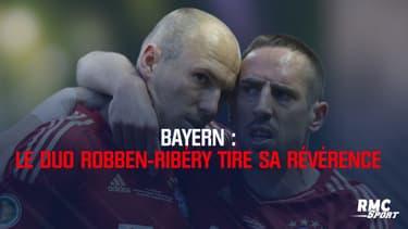 Bayern : le duo Robben-Ribéry tire sa révérence