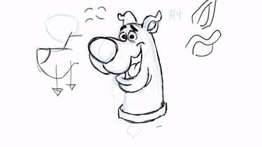 Apprendre à dessiner Scooby-Doo