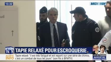 Bernard Tapie est relaxé pour escroquerie dans l'affaire de l'arbitrage controversé