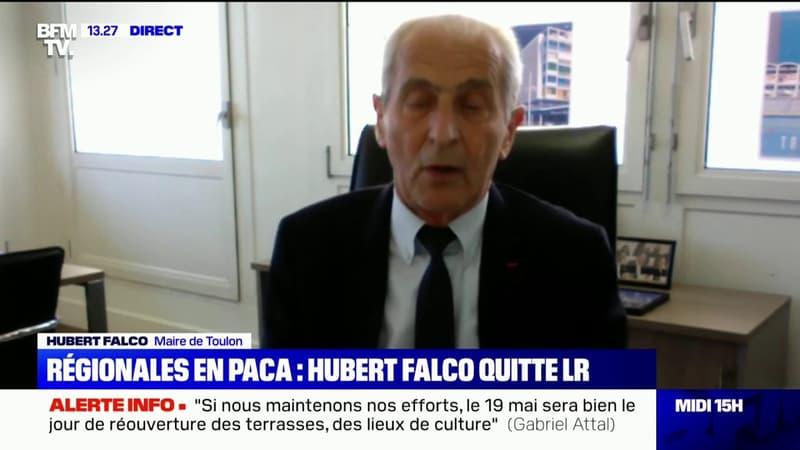 """Hubert Falco quitte LR: """"À partir d'aujourd'hui, je ne me considère plus membre d'un parti qui m'a traité de malfaisant"""""""