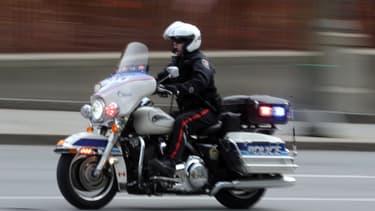 Un policier canadien à Ottawa, en octobre 2014 (PHOTO D'ILLUSTRATION).