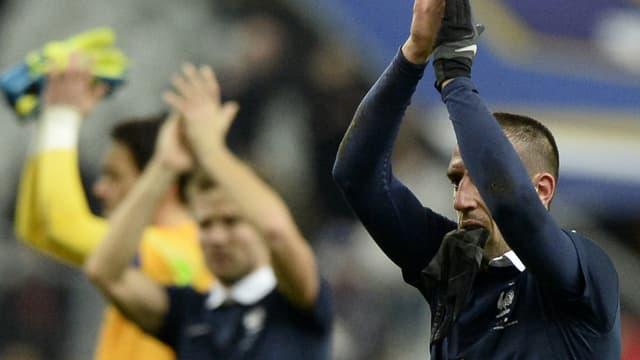Franck Ribéry et Yohan Cabaye