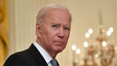 Joe Biden à la Maison Blanche le 17 mai 2021