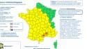 L'Hérault et le Gard ont été placés en vigilance orange, en raison de risques d'orages et de fortes pluies.