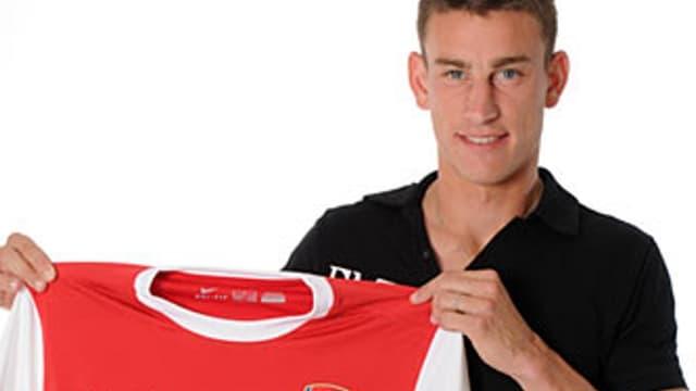 Laurent Koscielny, le nouveau défenseur d'Arsenal