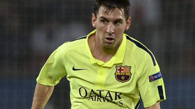 Malgré la défaite, Messi a une fois encore marqué l'histoire du Barça.